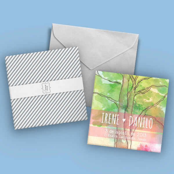 Wedding invitations covers